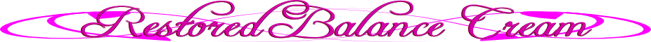 restored balance cream natural progesterone cream